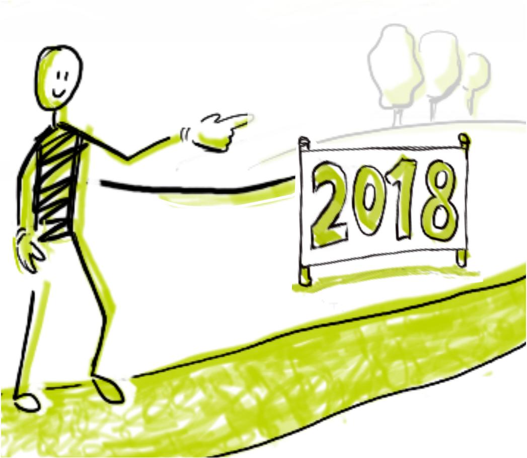 Agiles Häppchen – Ziele-Reflexion zum Jahresanfang 2018